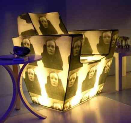sillon iluminado personal opulent items