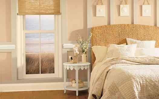 Decoraci n con colores c lidos decoraci n de interiores for Pintura beige arena