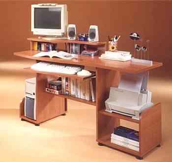 Ordenar la mesa del ordenador decoraci n de interiores - Mesas pequenas ordenador ...