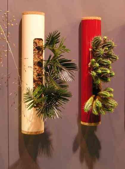 Decoracion De Baño Con Plantas:se trata de cajas de diversas formas con un terrario