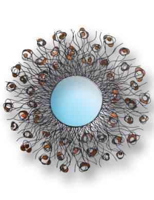 Espejos atractivos y originales decoraci n de for Marcos originales para espejos