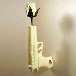 Florero pistola