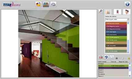 Muestras de pinturas para casas imagui - Software decoracion interiores ...