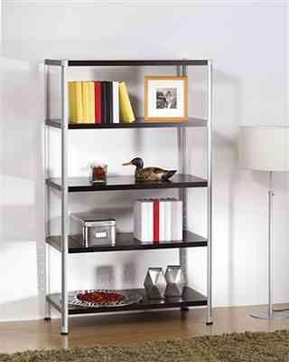 Estanter a de aluminio decoraci n de interiores opendeco - Estanteria de aluminio ...