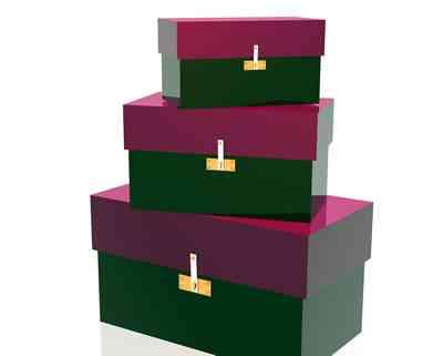 El arte de decorar con cajas