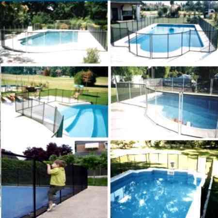 Vallas de seguridad para piscinas Babysegur 1