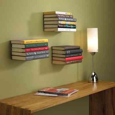 Estante para libros invisible taringa - Estantes para libros ...