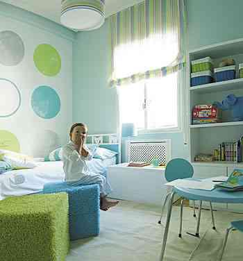 Paredes pr cticas para habitaciones infantiles - Paredes habitaciones infantiles ...