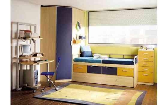 Muebles para cuartos juveniles y modernos decoraci n de for Muebles modernos para habitacion