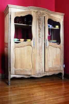 Video consejo de hoy c mo restaurar un mueble antiguo o - Restaurar armarios antiguos ...