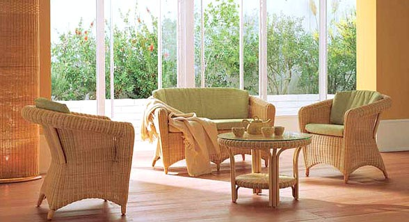 Muebles de Rattn para interiores Decoracin de Interiores Opendeco
