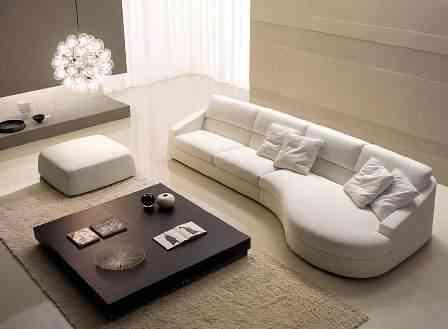 Una buena idea: un sofá curvo - Decoración de Interiores | Opendeco