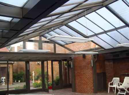 Techos trasl cidos y techos corredizos decoraci n de for Laminas para techos interiores