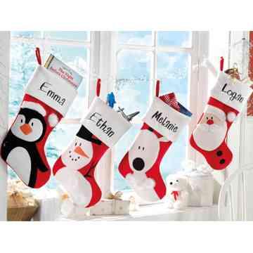 Bellos calcetines para tu chimenea Decoracin de Interiores Opendeco