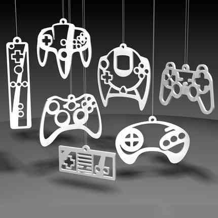 decoración_navideña_geek_video_juegos_mandos
