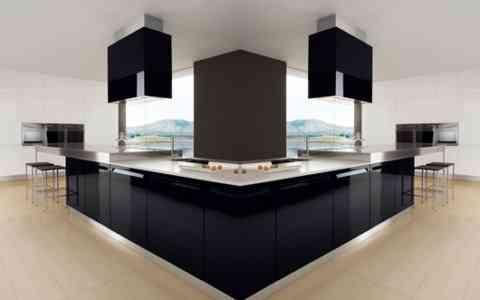 porduccin de todo tipo de amoblamiento para la cocina combinando a la perfeccin el estilo minimalista de la mano con un estilo futurista - Cocina Minimalista