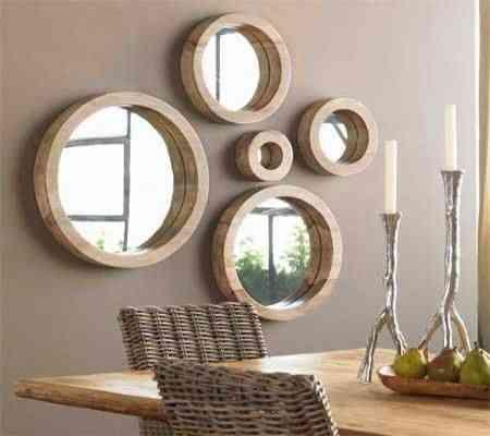 si padeces el problema de la falta de espacio coloca un espejo para que refleje una pared larga con esto logrars duplicar la sensacin visual de amplitud - Decoracion Espejos