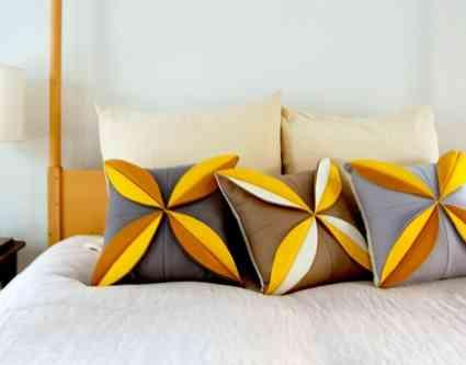 quieres alegrar tu dormitorio con unos cojines tan bonitos como los que ves en la fotografa pues ests de suerte porque el blog de manualidades the purl - Cojines Bonitos