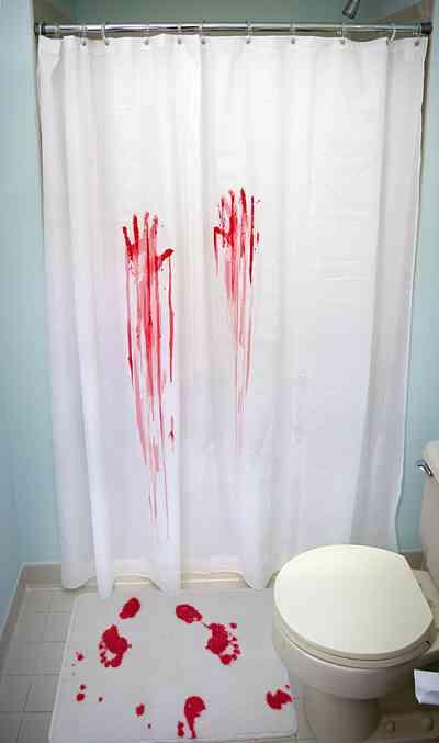 Juego de baño para los amantes del cine de Horror 1