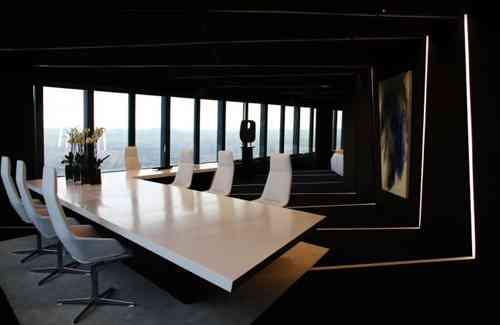 Decoraci n de oficinas decoraci n de interiores opendeco - Decoracion moderna minimalista ...