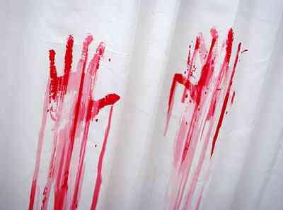 Juego de baño para los amantes del cine de Horror 2