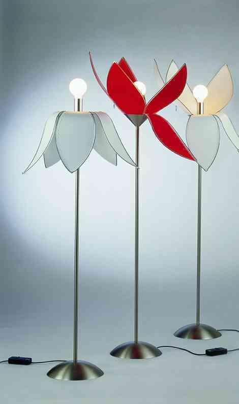 Tulip: una lámpara con forma de tulipán 1