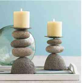 Viva Terra, decoración con piedras 2