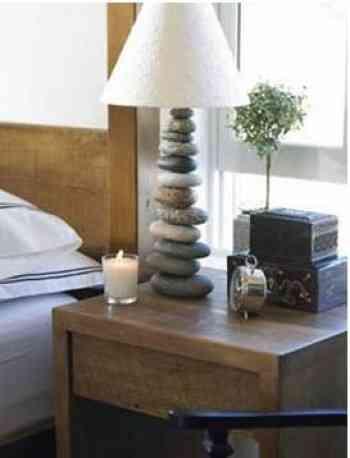 Viva Terra, decoración con piedras 1