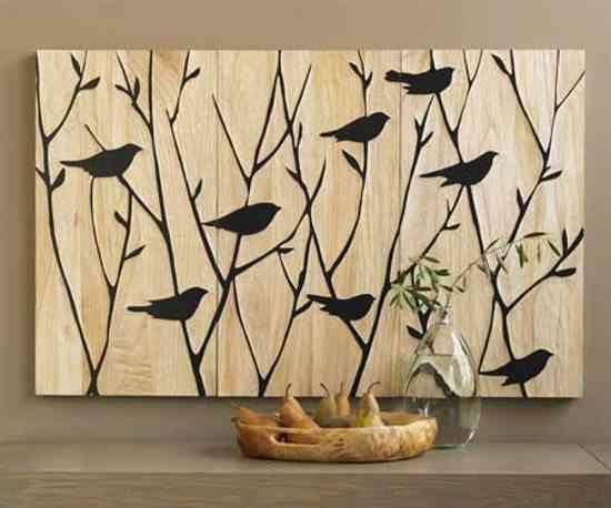 Paneles artesanales de viva terra decoraci n de - Decoracion de paredes con madera ...