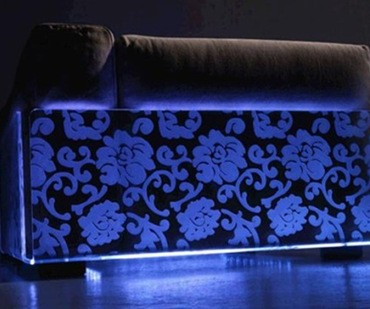 Originales decoraciones con Leds