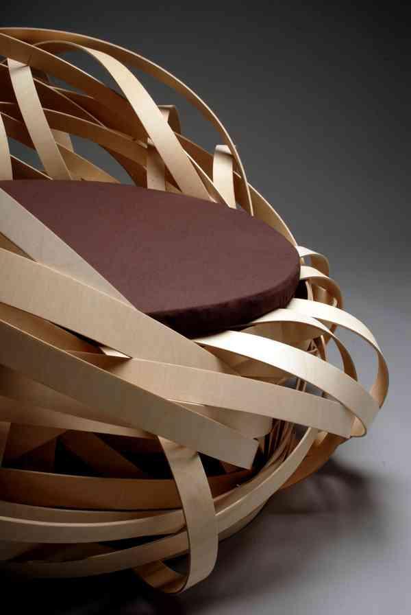 ¿Una silla que parece un nido o un nido que parece una silla? 5