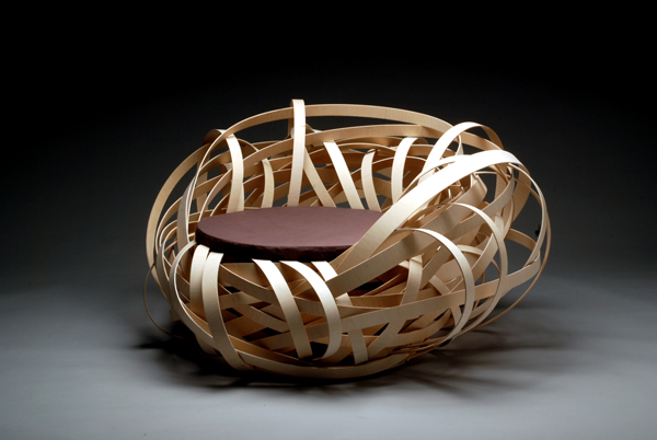 ¿Una silla que parece un nido o un nido que parece una silla? 2