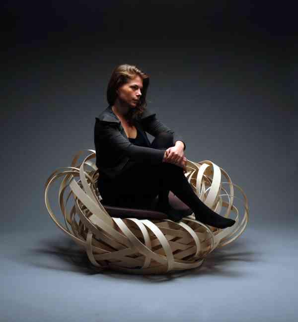 ¿Una silla que parece un nido o un nido que parece una silla? 3
