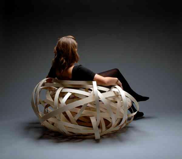 ¿Una silla que parece un nido o un nido que parece una silla? 4