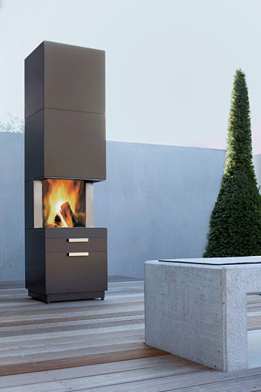 Nero: una estufa a leña para exteriores 1