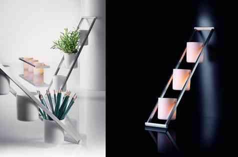 Maceteros luminosos para decorar de día y de noche 2