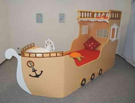 Originales camas para ni os decoraci n de interiores - Fotos de camas de ninos ...