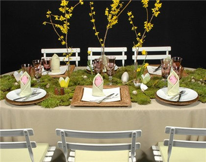 Cómo decorar tu mesa en Pascua 1