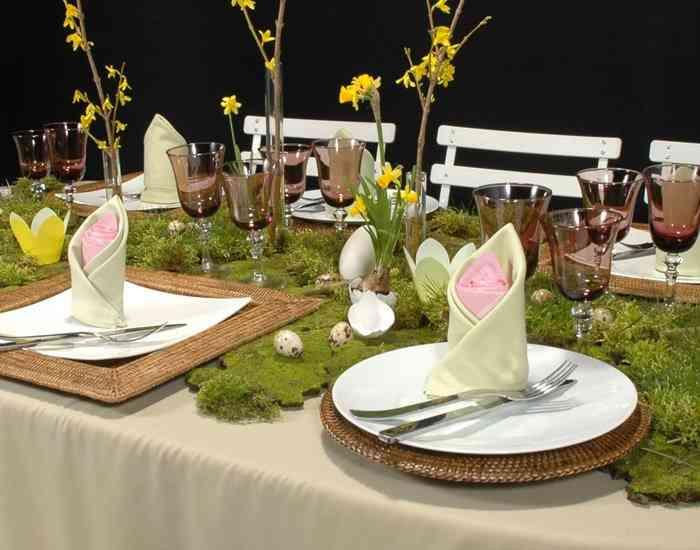 Cómo decorar tu mesa en Pascua 2