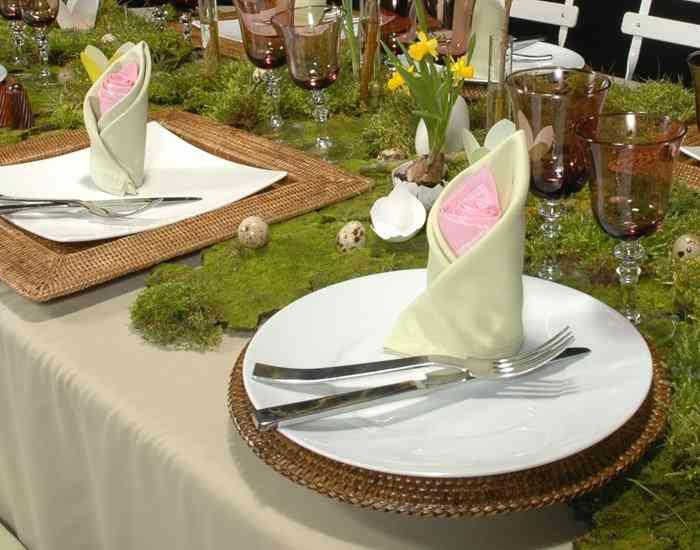 Cómo decorar tu mesa en Pascua 3