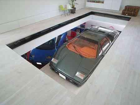 opendeco_takuya_tsuchida_casa_garaje_9_coches_ascensor_arbol_tokyo (2)