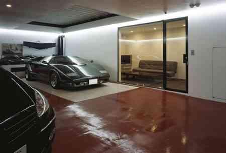 opendeco_takuya_tsuchida_casa_garaje_9_coches_ascensor_arbol_tokyo (3)