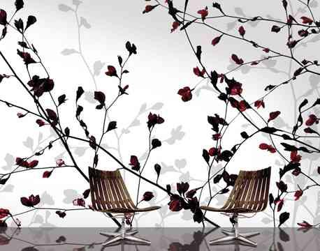 Papeles florales para tus paredes 2