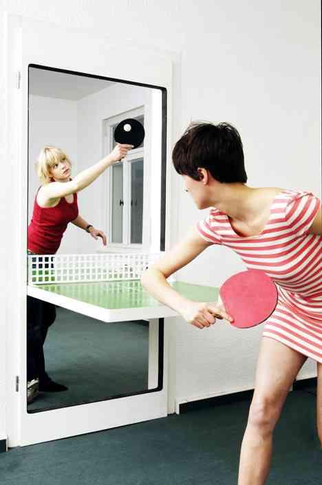 ¿Una puerta o una mesa de ping pong? Las dos cosas 1