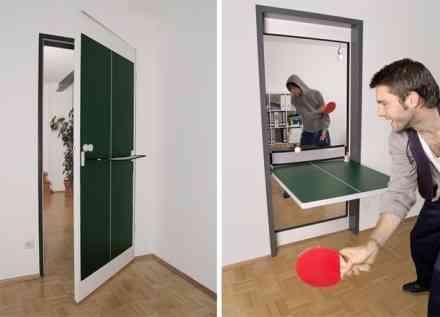 ¿Una puerta o una mesa de ping pong? Las dos cosas 2