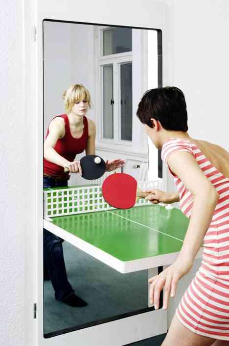 ¿Una puerta o una mesa de ping pong? Las dos cosas 3