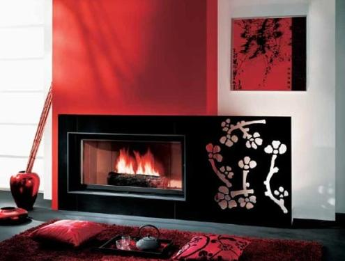 Chimeneas de diseño de Chazelles - Decoración de Interiores | Opendeco