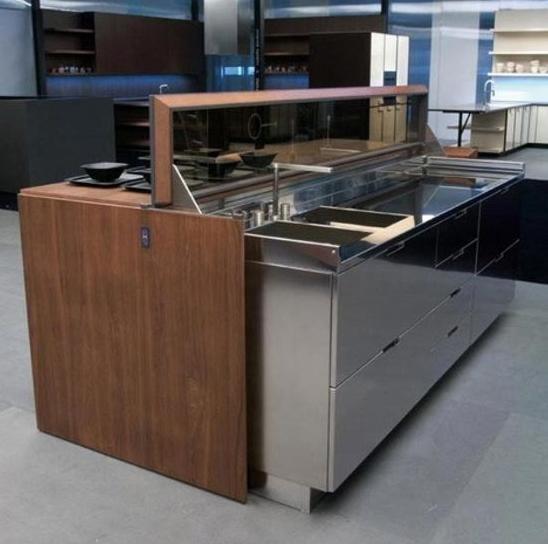 Decorativa y funcional isla de cocina 5