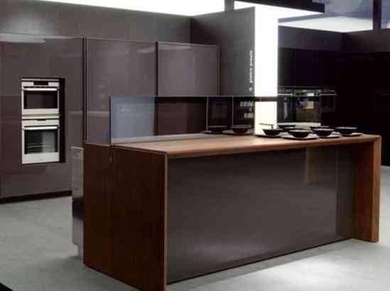 Decorativa y funcional isla de cocina 4