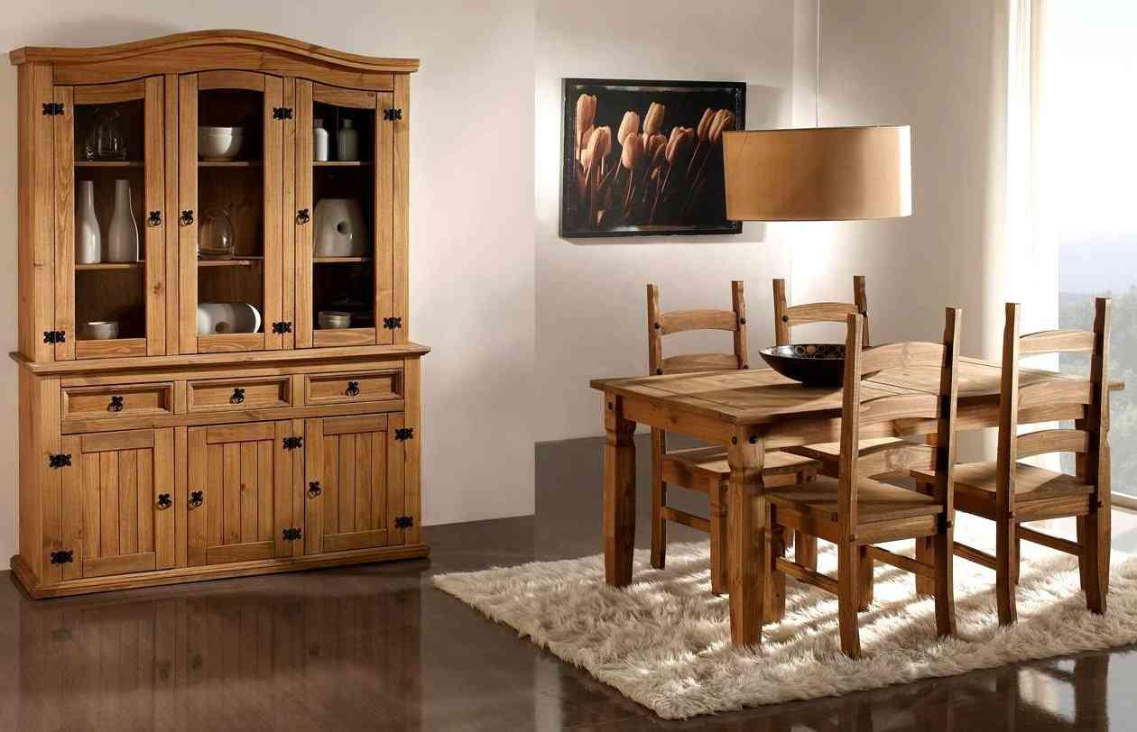 Una mesa para cada ambiente decoraci n de interiores for Comedor sencillo de madera